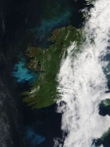 Phytoplankton bloom Ireland